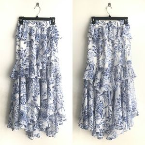 Misa Los Angeles Skirts - 🚫SOLD🚫MISA LOS ANGELES Joseva Maxi Skirt Floral
